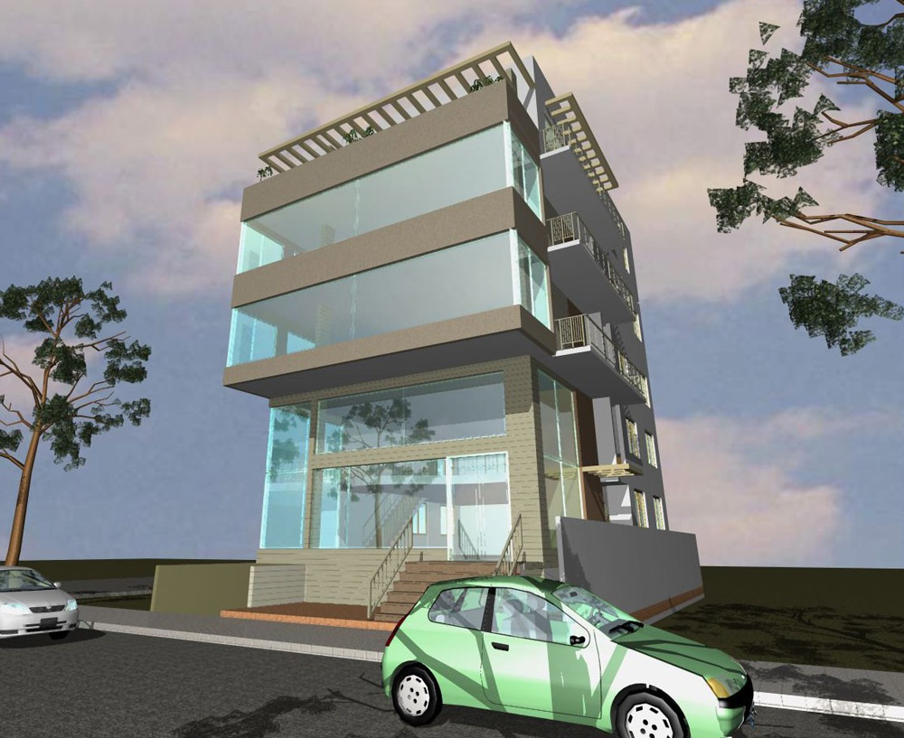 Modern Architecture Origin architects & building contractors for multistorey commercial