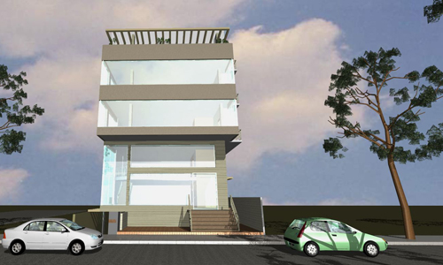 Sriram project is a creative outlook of modern construction by Origin Projects